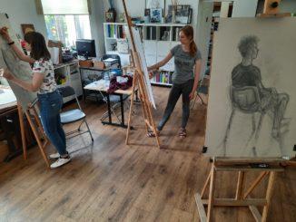 Letni kurs rysunku w SOK - fotogaleria