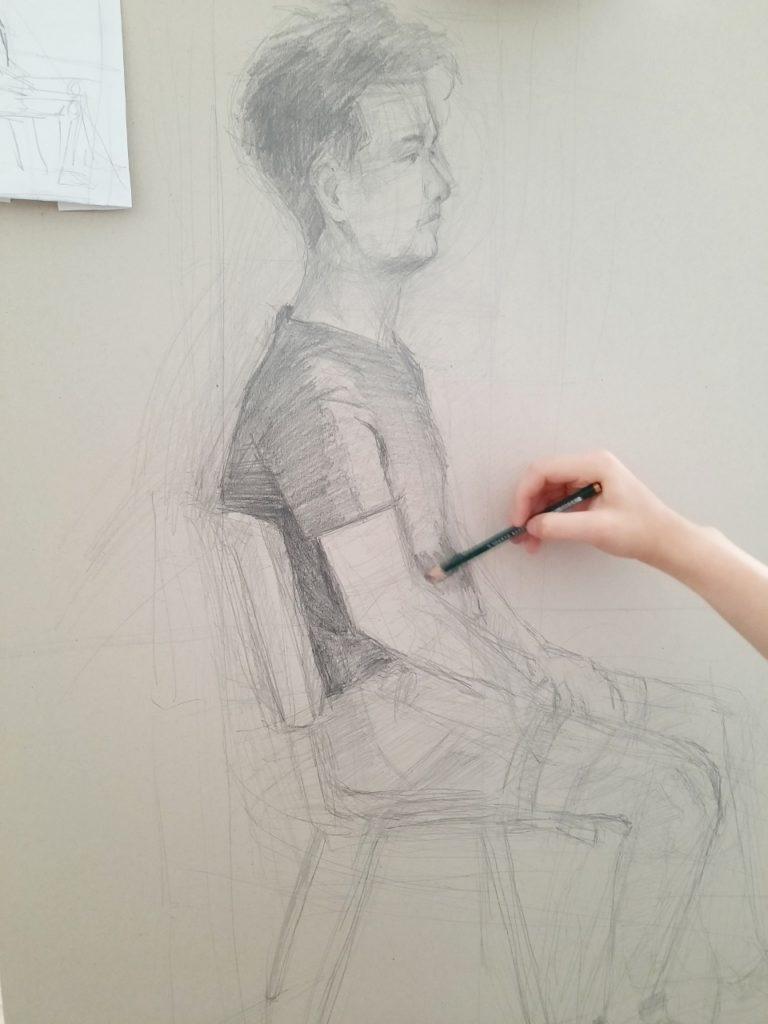 foto: Letni kurs rysunku w SOK - 29 1 768x1024