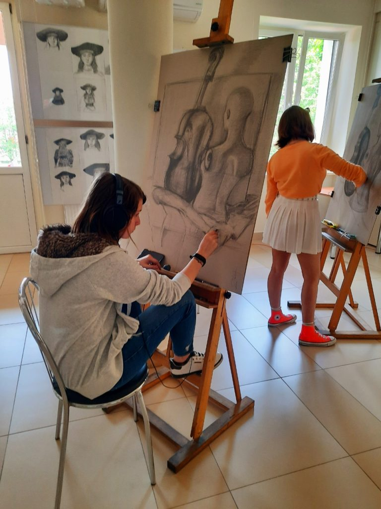 foto: Letni kurs rysunku w SOK - 32 768x1024