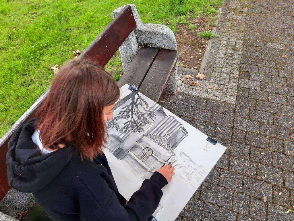 foto: Letni kurs rysunku w SOK - 39 1024x768