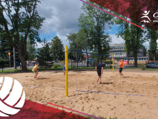 beach volleyball Lipowa 50 stadium