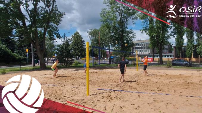 beach volleyball Lipowa 50 stadium