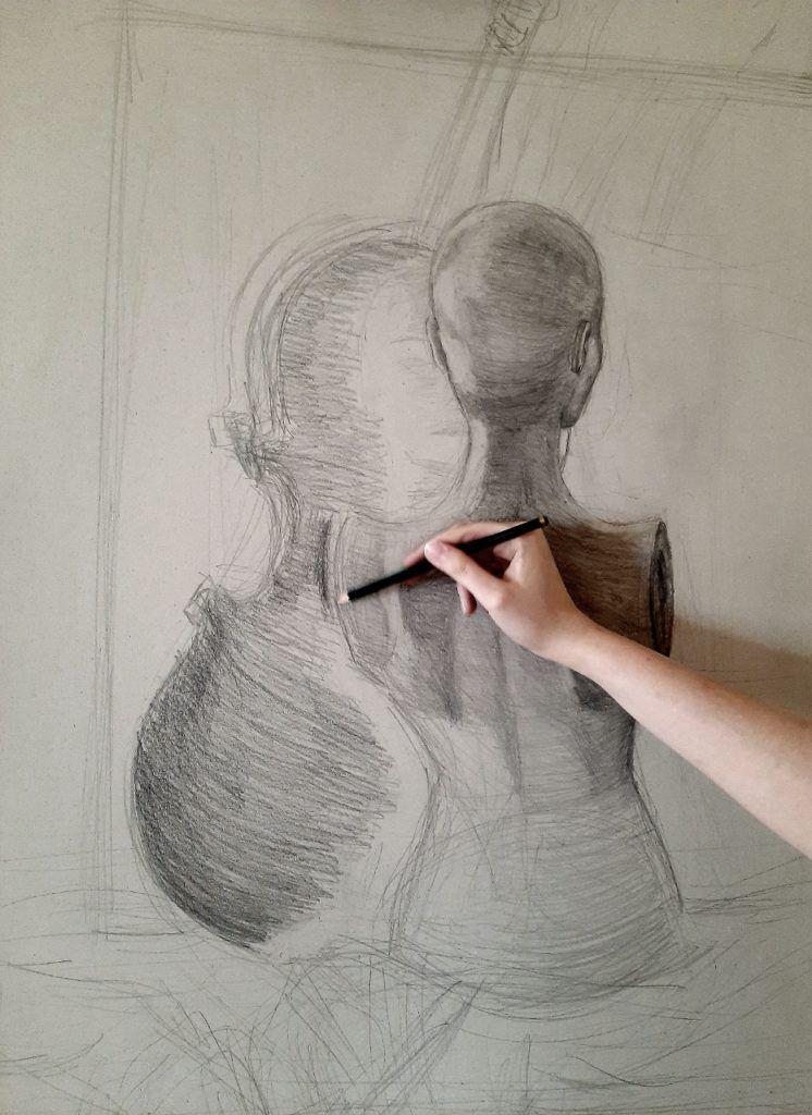 foto: Letni kurs rysunku w SOK - 07 4 746x1024