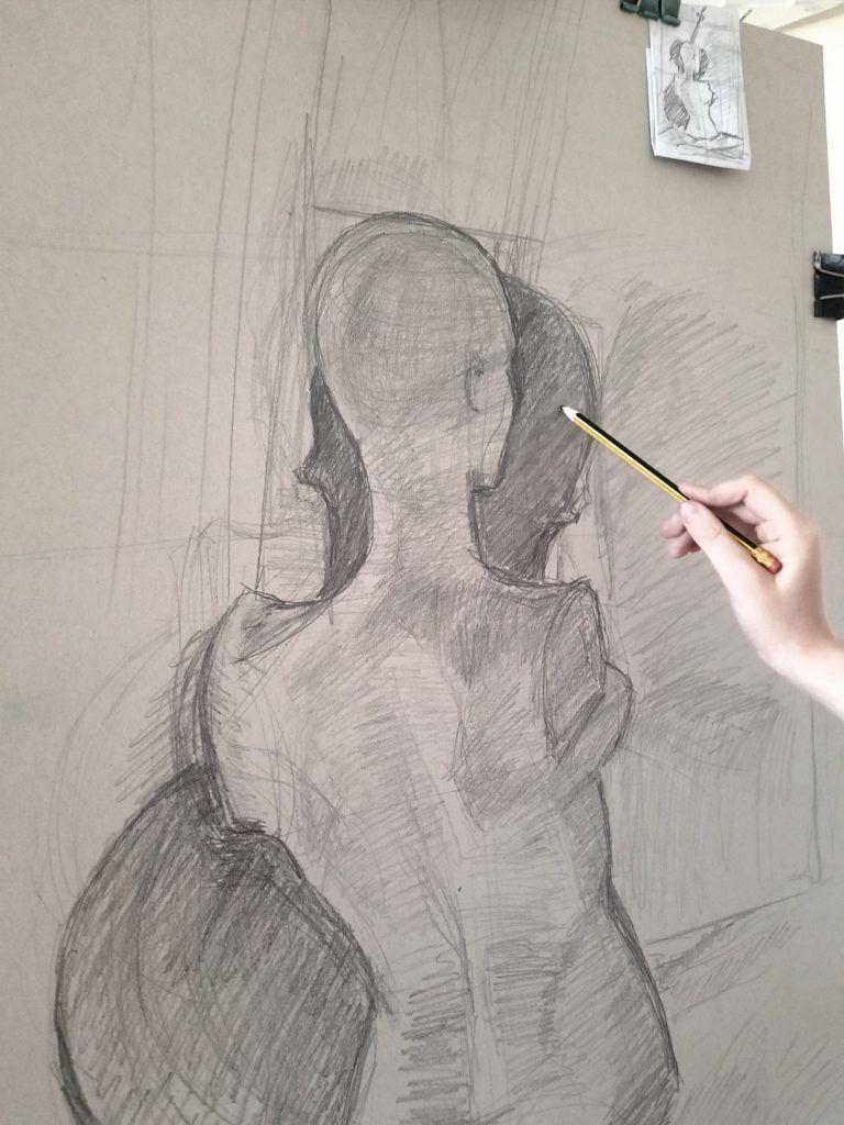 foto: Letni kurs rysunku w SOK - 09 4 768x1024