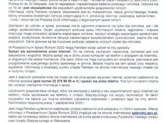 skan listu Burmistrza do mieszkańców