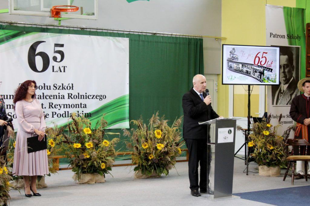 foto: Jubileusz 65-lecia Zespołu Szkół Centrum Kształcenia Rolniczego im. Władysława Reymonta w Sokołowie Podlaskim - IMG 1514 1024x682