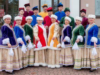 zdjęcie przedstawiające grupę młodzieży z ZPiT Sokołowianie