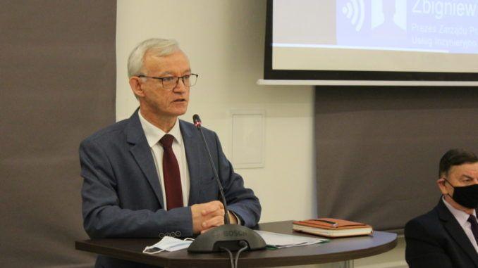 Prezes PUiK Zbigniew Bocian