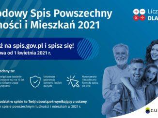 plakat Narodowy Spis Ludności 2021