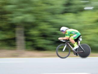 Zdjęcie zawodnika z poprzedniej edycji wyścigu