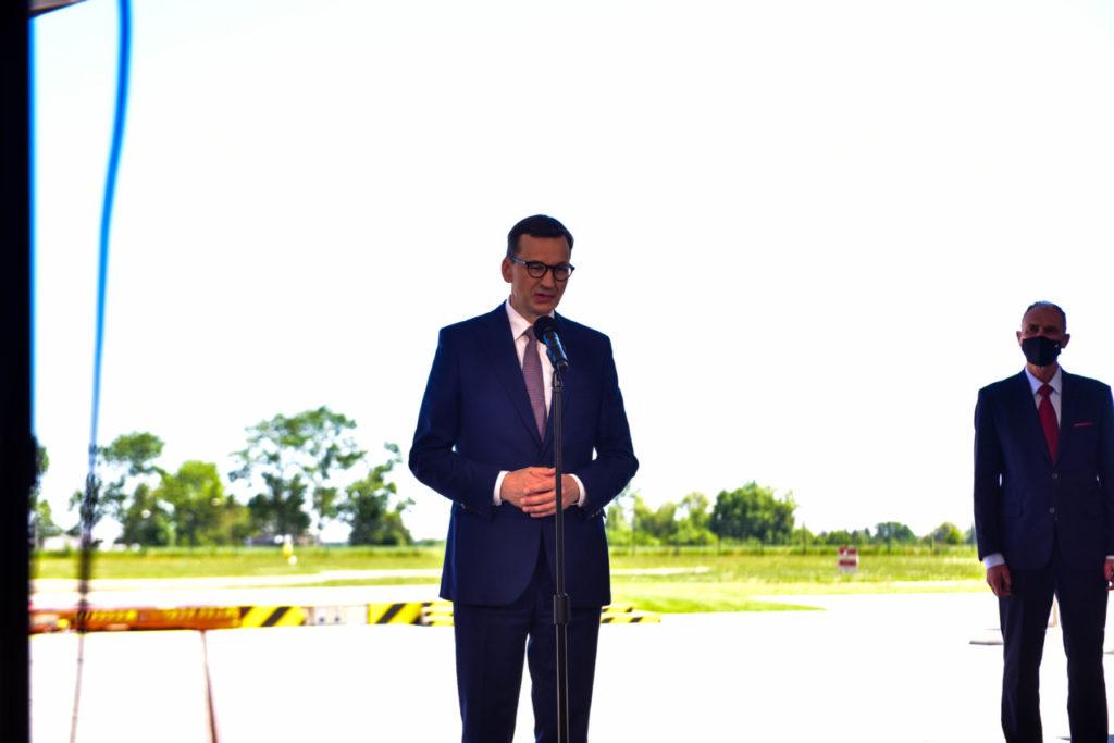 foto: Premier Mateusz Morawiecki odwiedził sokołowską bazę HEMS - DSC 0931 1024x683