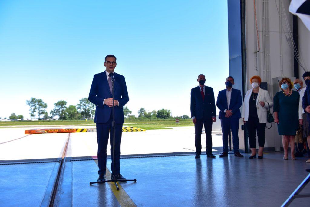 foto: Premier Mateusz Morawiecki odwiedził sokołowską bazę HEMS - DSC 0942 1024x683