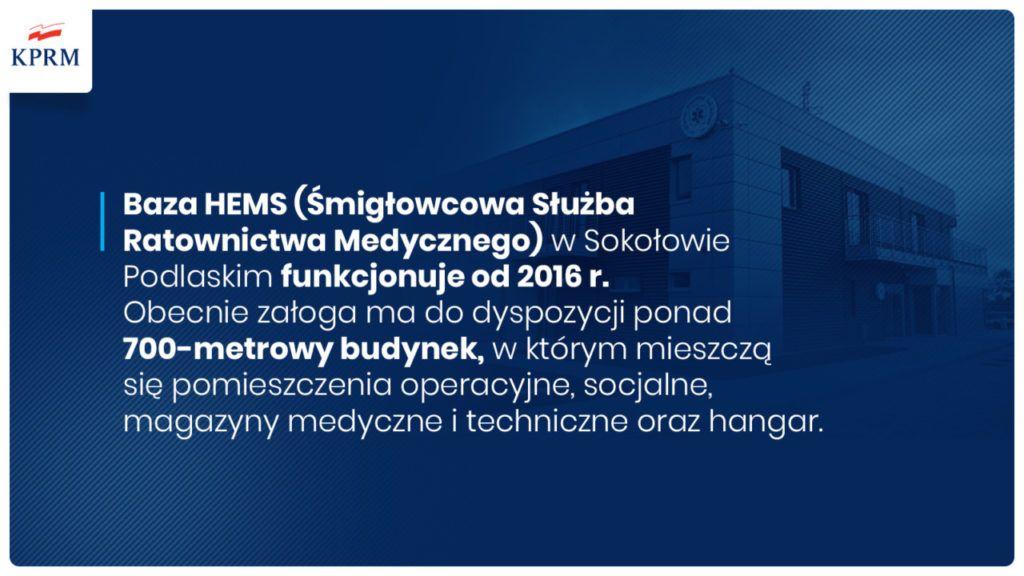foto: Premier Mateusz Morawiecki odwiedził sokołowską bazę HEMS - E31fAiZWEAAqKFI 1 1024x576