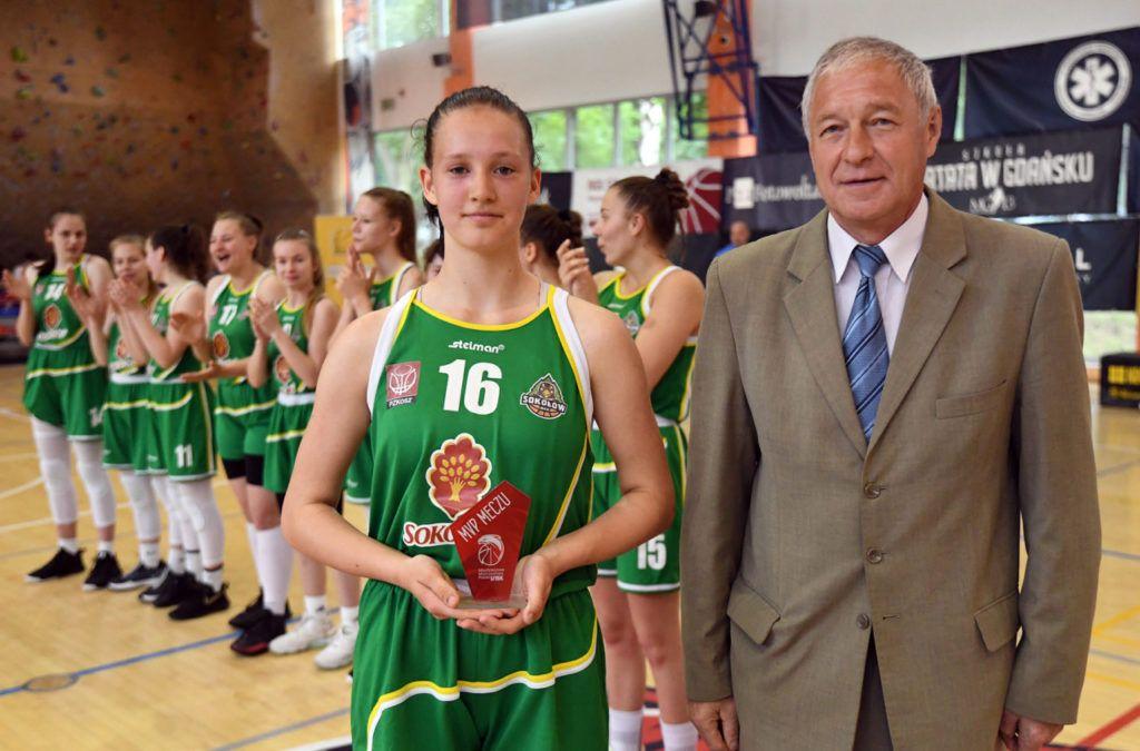 foto: 5 miejsce koszykarek U15 w Polsce 20/21 - MVP Adamczuk A MP U15 final 20 21  1024x675