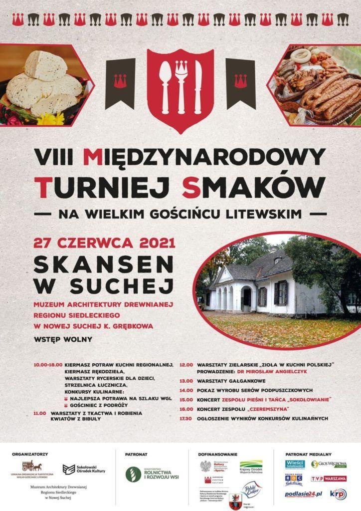 plakat VIII Międzynarodowy Turniej Smaków