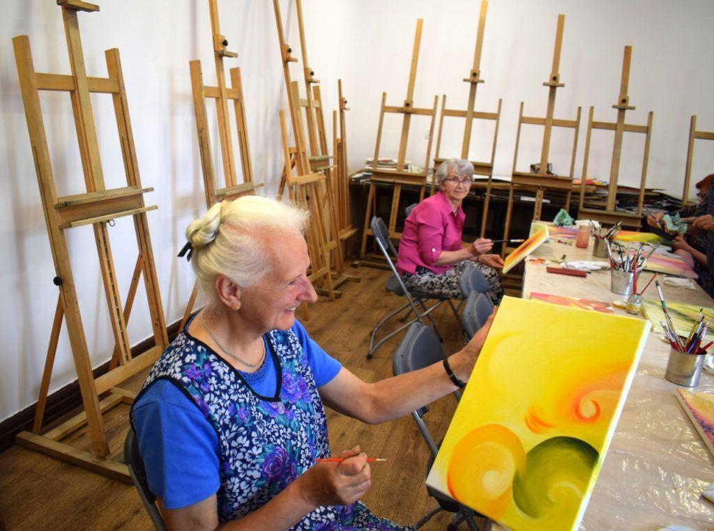 foto: Malowany Jazz-twórcze działania międzypokoleniowe - 11 1 1024x762