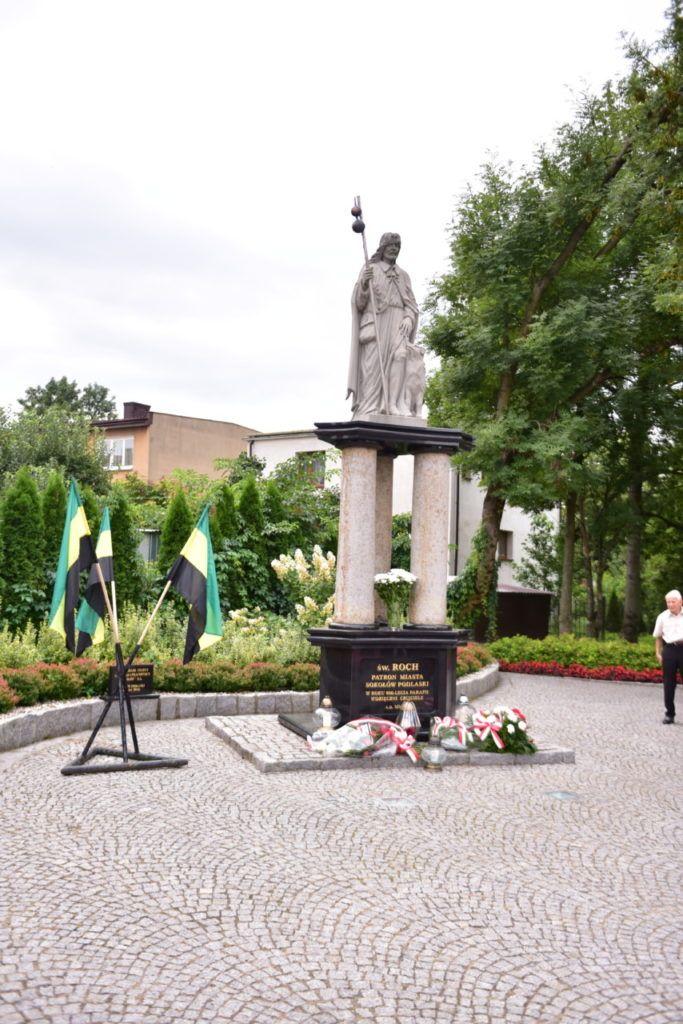 foto: VI. rocznica ogłoszenia św. Rocha patronem miasta - DSC 2009 683x1024
