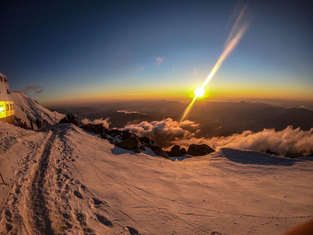 foto: Strażak z PSP Sokołów Podlaski zdobył Mont Blanc - 1 1024x768
