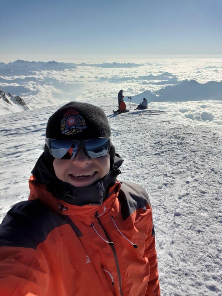 foto: Strażak z PSP Sokołów Podlaski zdobył Mont Blanc - 20210902 083459 768x1024