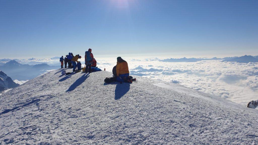 foto: Strażak z PSP Sokołów Podlaski zdobył Mont Blanc - 20210902 085247 1024x576