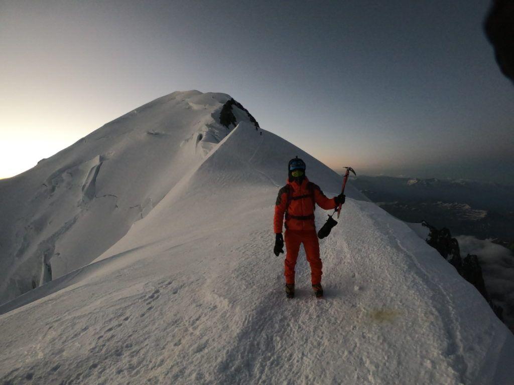 foto: Strażak z PSP Sokołów Podlaski zdobył Mont Blanc - GOPR6267 1024x768
