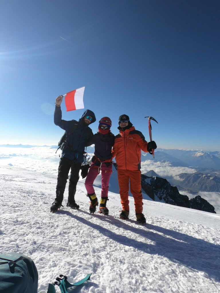 foto: Strażak z PSP Sokołów Podlaski zdobył Mont Blanc - GOPR6292 768x1024