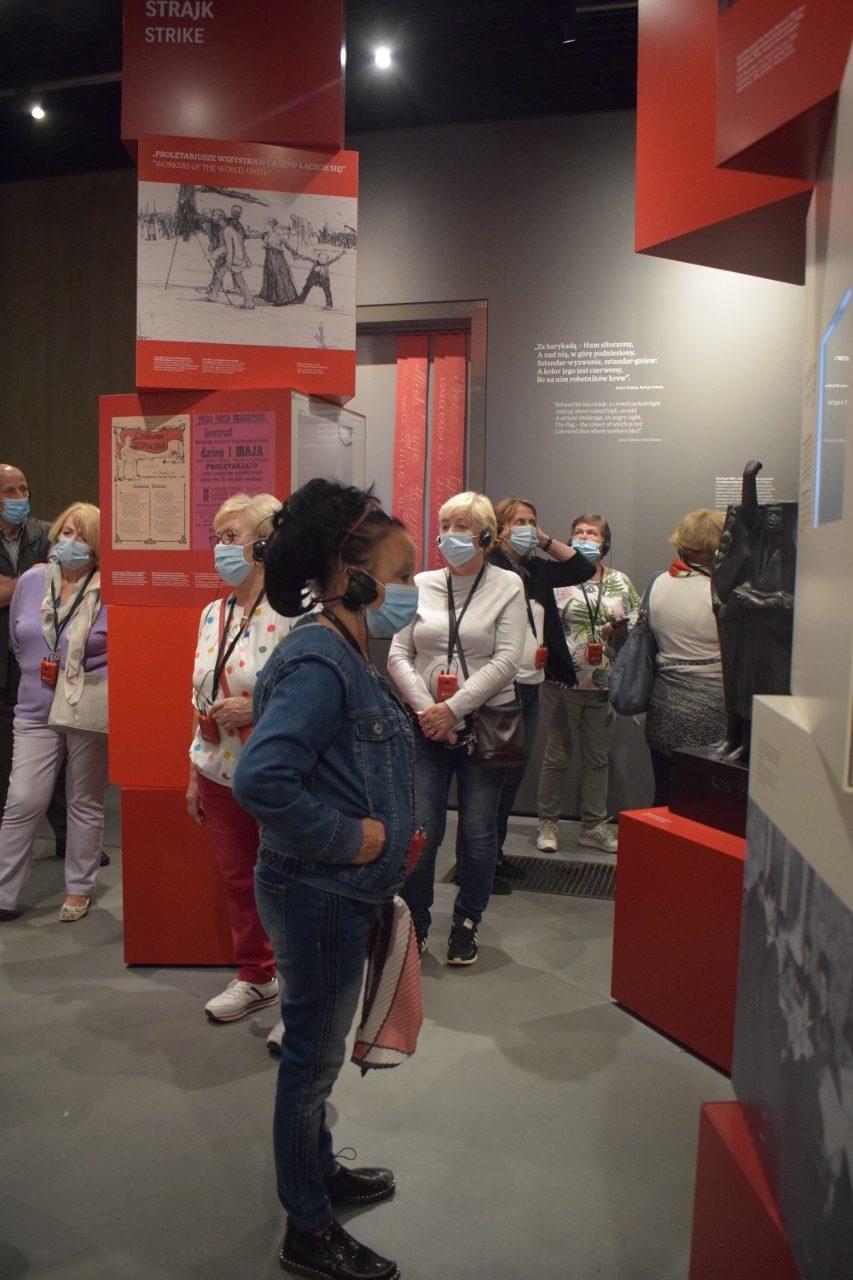 foto: Słuchacze SUTW w Muzeum Józefa Piłsudskiego - 14 rotated