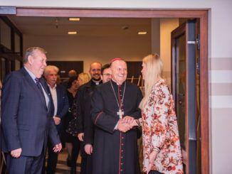 Wizyta księdza biskupa Tadeusza Pikusa