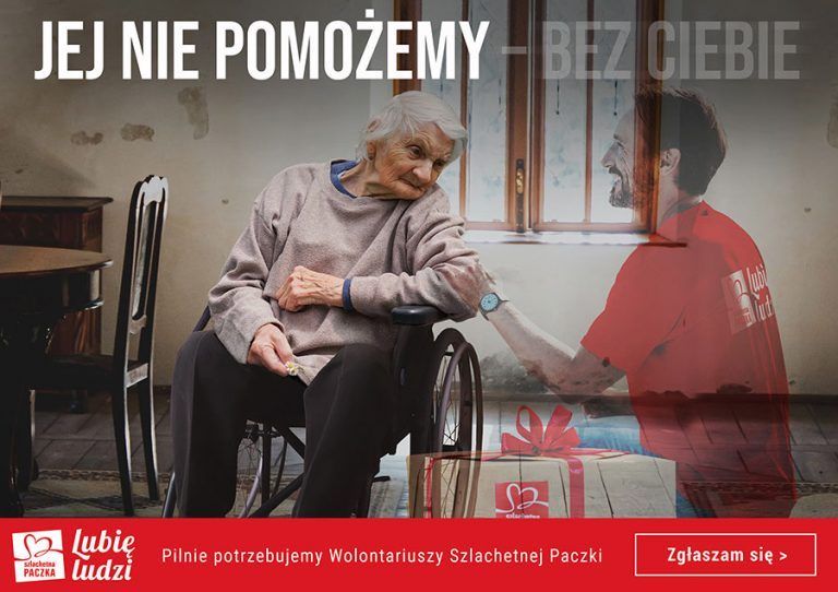 foto: Szlachetna Paczaka szuka wolontariuszy - Plakat Szlachetna paczka