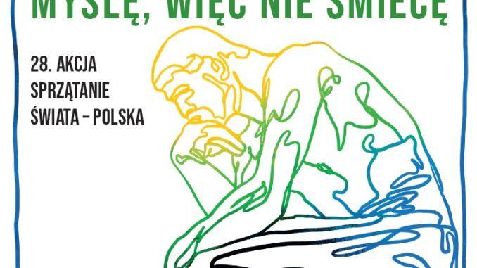 Zdjęcie nagłówkowe - fragment plakatu akcji Sprzątanie Świata 2021