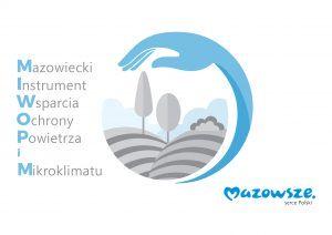 Logo: Mazowiecki Instrument Wsparcia Ochrony Powietrza i Mikroklimatu