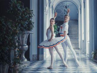 para tańcząca balet
